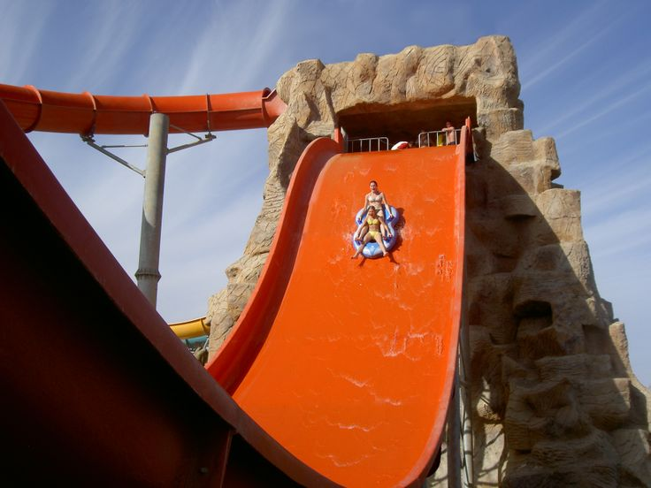 Wave Slide at  Aquapark, Sharm El Sheikh, Egypt
