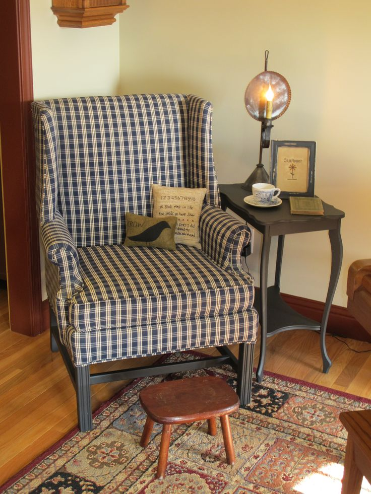 Colonial Inspired Reading Nook!