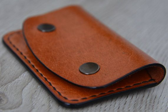 SALE 40% OFF leather cardholder by NHLdesign on Etsy