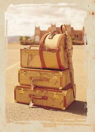 1a Classe – Alviero Martini map suitcases