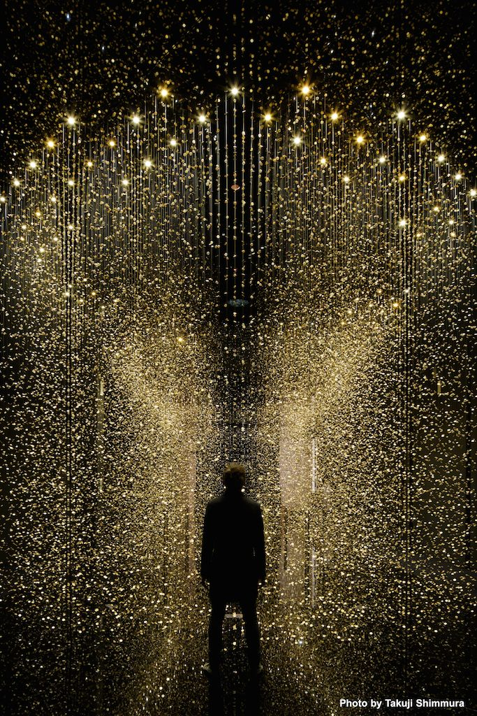 Incredible art installation. LIGHT is TIME at Triennale di Milano, during the period of Milan Design Week.