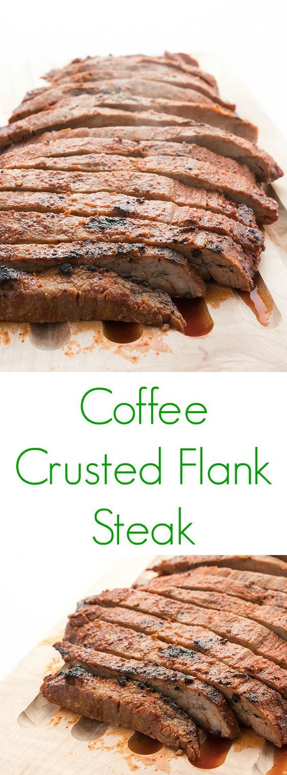 The ultimate fast, high protein dinner recipe, flank steak is rubbed with a coffee-infused dry spice mixture then grilled or broiled to juicy perfection.