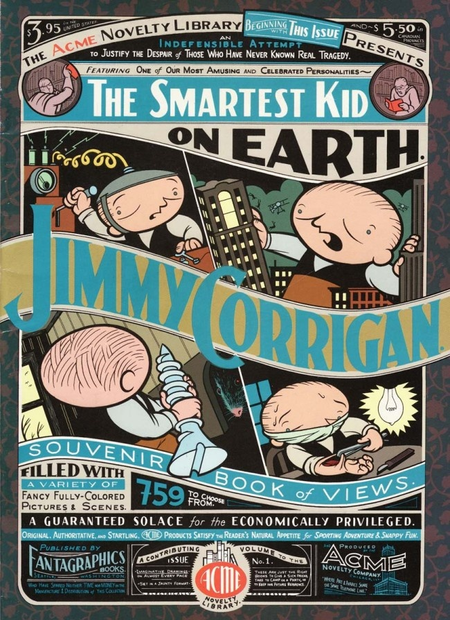 Jimmy Corrigan, Smartest Kid on Earth by Chris Ware