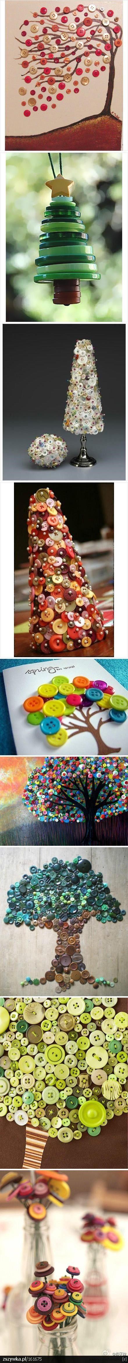 Amezing Button Art