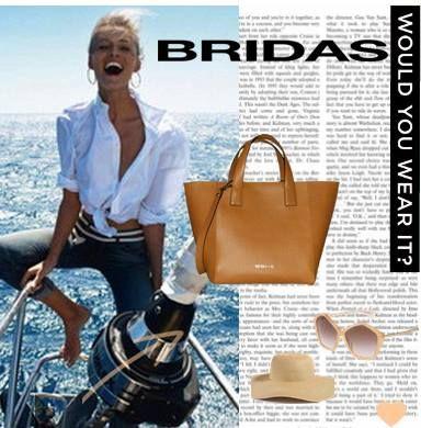 Nuestro look veraniego de la semana ¿te lo pondrías? #bridas #clenapal #bolsos #leather #bags
