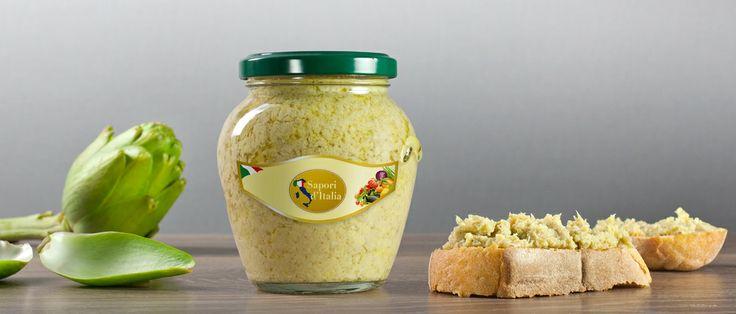 Salsa patè di carciofi http://hitany.it/it/prodotti/sottoli-e-sottaceti/pate-di-carciofi-81