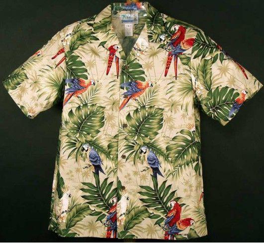 Гавайская рубашка - 102C.B45H