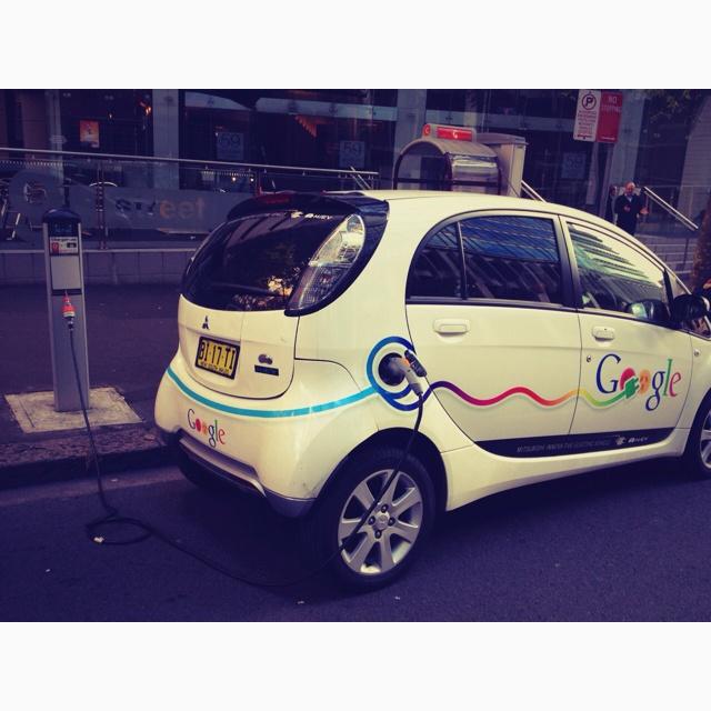 Google Electric Car Charging