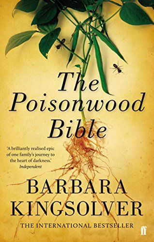 "Corinne recommended The Poisonwood Bible (Barbara Kingsolver) - ""quite heavy going but an absolute page turner"""
