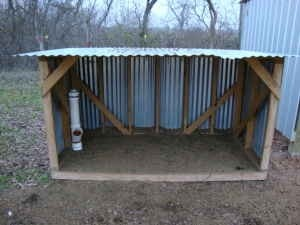 Quick rain shelter for out in the woods