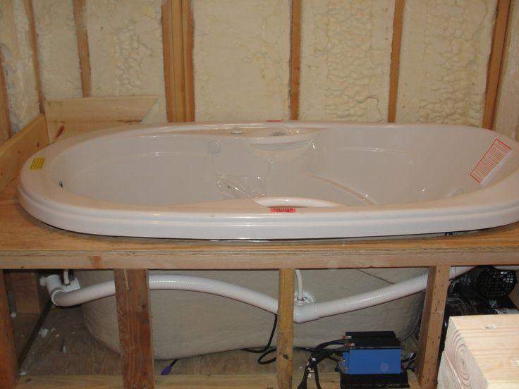 frame underneath bathtub ideasbath