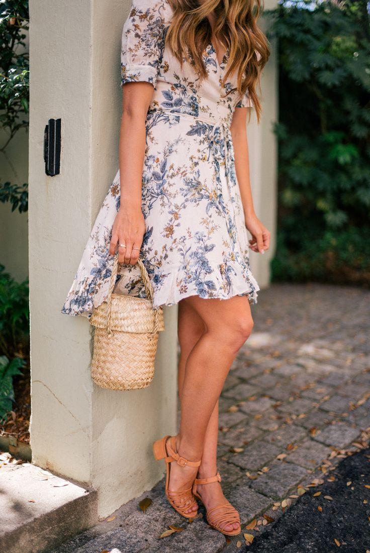 Gal Meets Glam Floral Wrap Dress - Ralph Lauren Denim & Supply dress