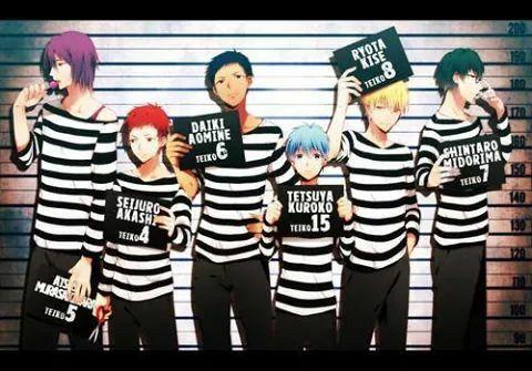 If Kiseki no Sedai as criminal