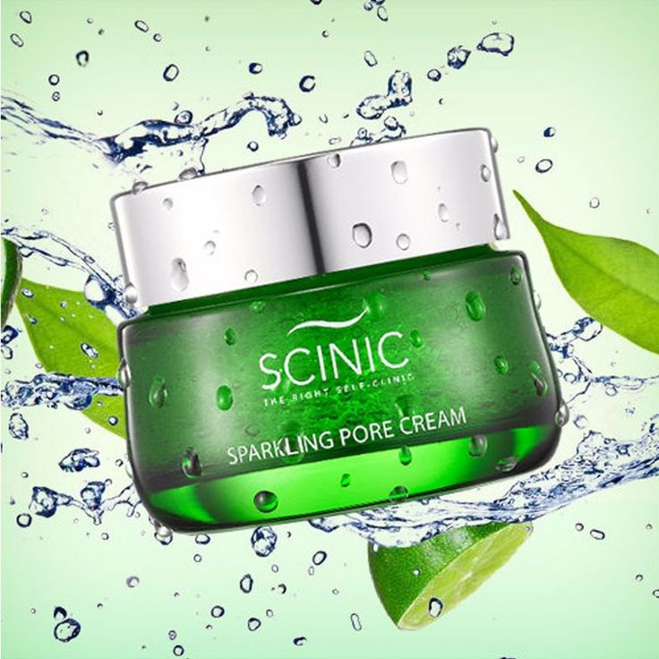 Scinic Sparkling Moisturizing Pore Gel Cream 50ml Korean Cosmetics #scinic