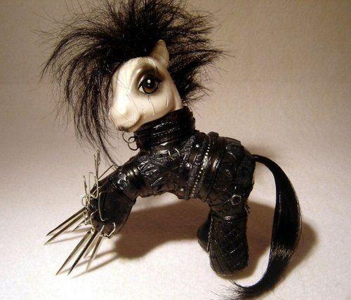 Edvard scissorhands my little ponyMy Little Ponies, Scissorhands Ponies, Stuff, Edward Scissorhands, Random, Funny, Edward Scissors, Edwardscissorhands, Scissors Hands