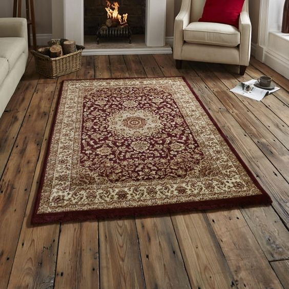 For High Quality Rugs At Great Prices The Regency 7896 Traditional Rug Red A Price And Get Free Fast Delivery