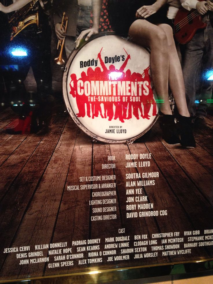 The commitments musical - give us a call and book your break to see The Commitments in the West End.