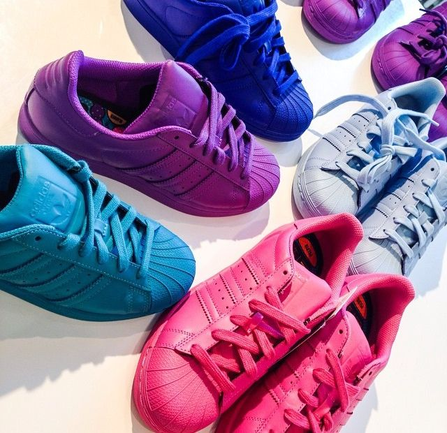 Adidas Shoes Colors