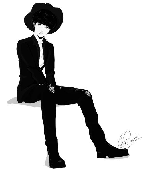 Monochrome Taemin
