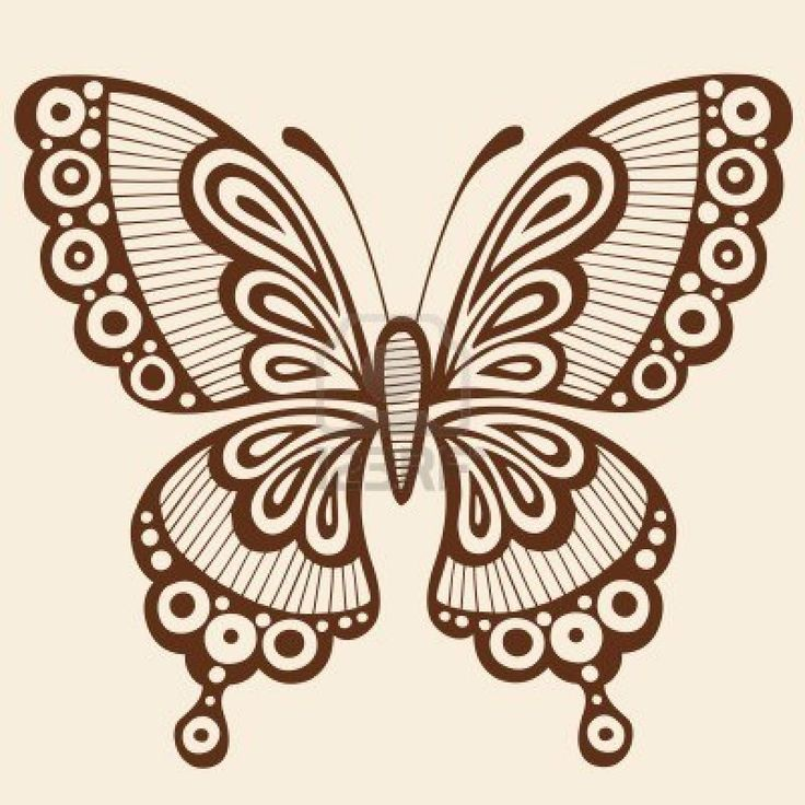 Mehndi Tattoo Butterfly : Best images about birthday henna on pinterest simple