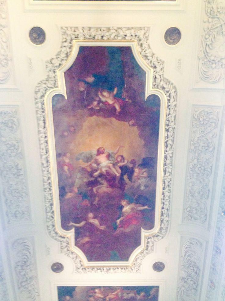 Chapel ceiling, Trinity