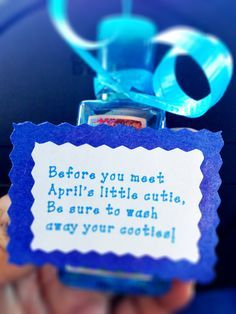 Hand Sanitizer Baby Shower Favors And Shower Favors On