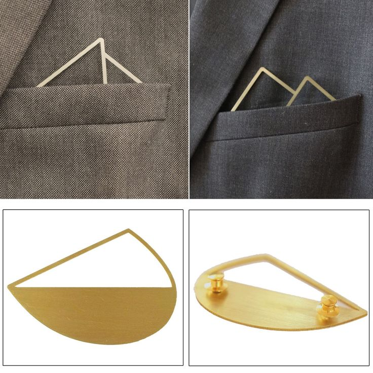 Luxury Designer Lapel Pin Brooch for Men & Women Ideal for Suit Blazers Shirts #Fadkart