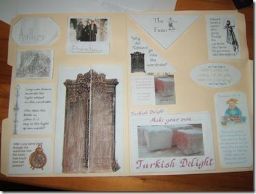 FREE templates.  Lapbooking through the The Lion, the Witch and the Wardrobe.  This post has a link to all the pages you need to create a great interactive lapbook to accompany The Lion The Witch and The Wardrobe.  A great way for students to explore this popular story and serves as a visual review of the main elements of the story.  Read more and download at:  http://www.homeschoolshare.com/blog/2012/09/show-tell-the-lion-the-witch-and-the-wardrobe/