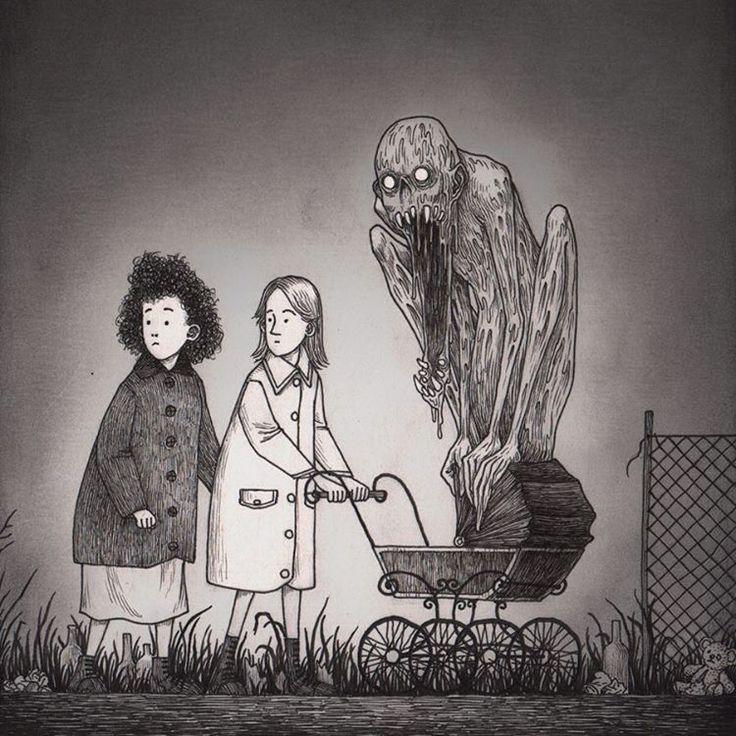 Creepy By John Kenn Mortensen (@ Johnkennmortensen