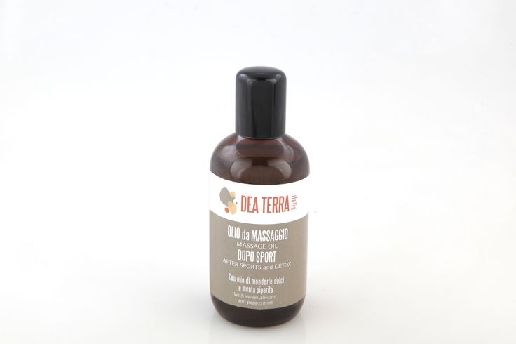 After sport - discover the energizing oil deaterra