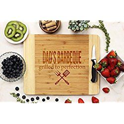 Personalized Cutting Board - Dad's BBQ