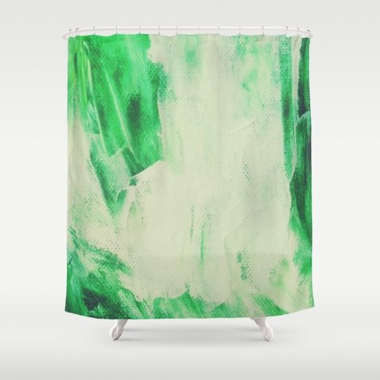 Mint Flavored Shower Curtain