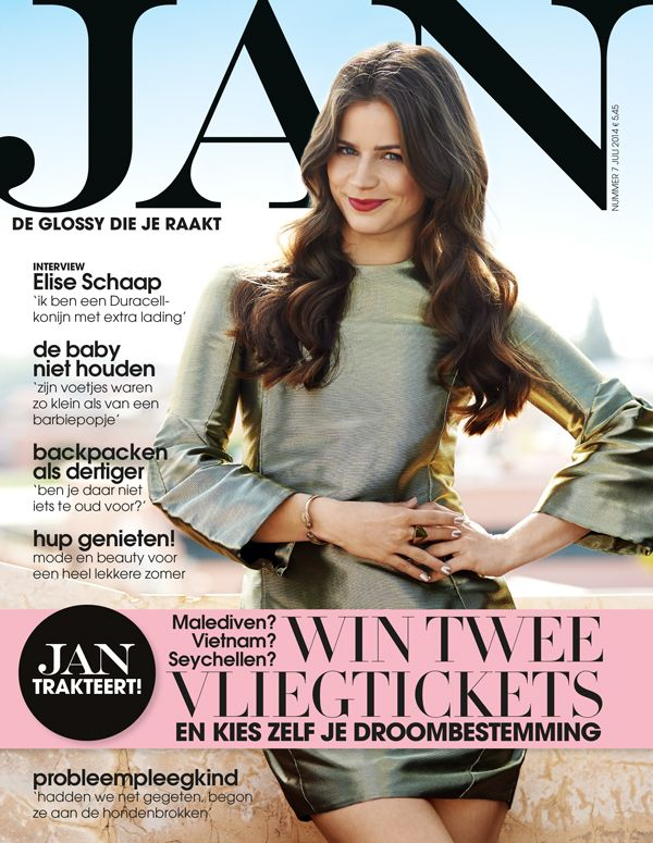Elise Schaap | Cover JAN Magazine 7-2014