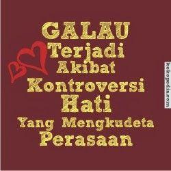 Gambar kata-kata Galau