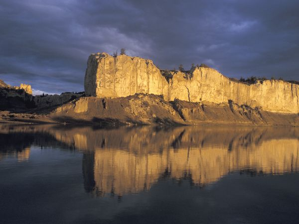 missouri river breaks | Picture of the Upper Missouri River Breaks National Monument, Montana