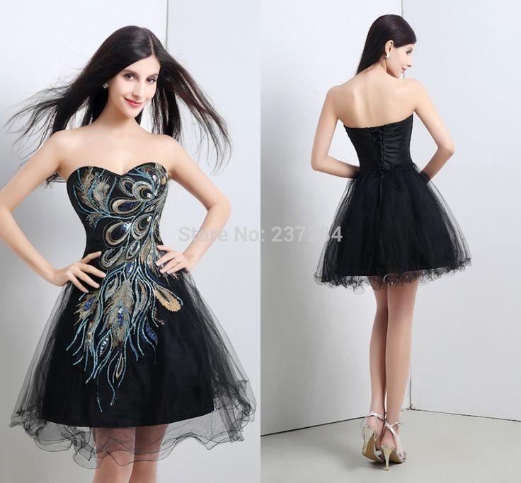Black strapless dress under 50