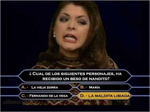 Versión Quiz Show.   Los 16 mejores memes de Soraya Montenegro