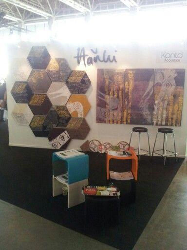 Habitare 2014 konto acoustics ja hanhi design osasto