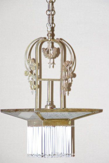 126 best images about arts crafts deco and nouveau on for Art nouveau lighting fixtures