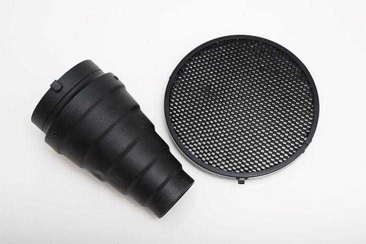 Grid y Snoot: 2 Modificadores de Luz de Flash que Puedes Construir tú Mismo