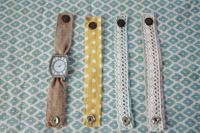 Grand Design: Fabric watch bands