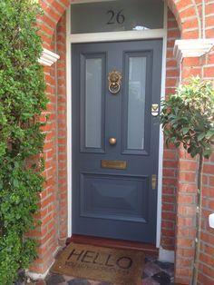 victorian style front door - colour