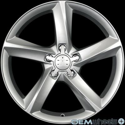 "18"" Silver A8 s Line Style Wheels Fits Audi Q5 Quattro VW Tiguan TDI SUV Rims | eBay"