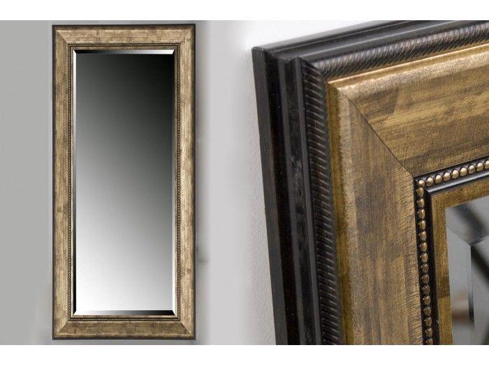 Oglinda MIRROR RESIN ANTIQUE GOLD 40x120 CM EXT. 58x138 CM - Henderson