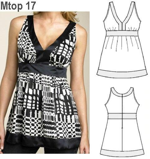 Pin Modelos Blusas Muy Lindas Moda Vestidos Boda Complementos on ...