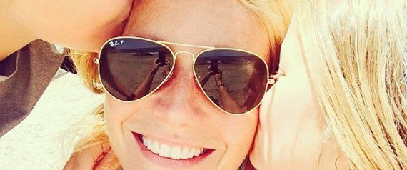 Gwyneth Shares Rare Photo Of Her Kids On Mother's Day