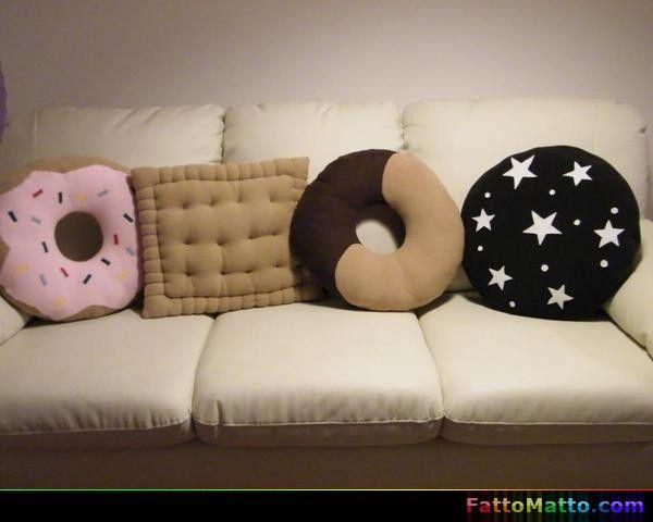 Cuscini biscotto - via FattoMatto.com - #FattoMatto