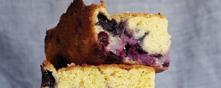 This Blueberry Cake Is So Good, It Grunts | MUNCHIES