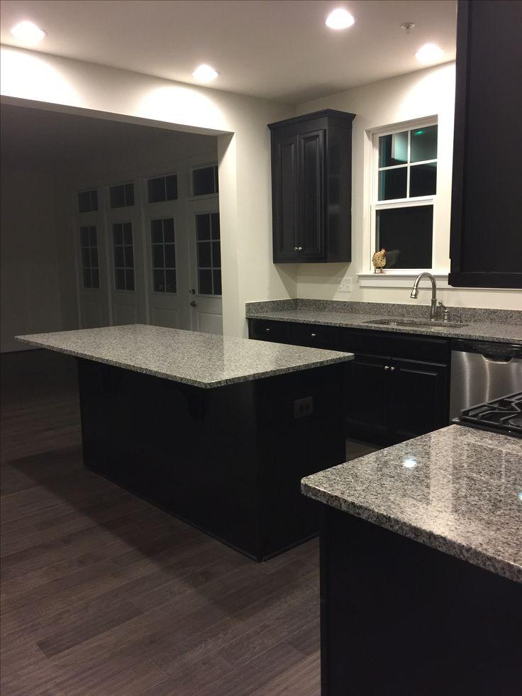 espresso cabinets with white granite silver pearl granite kitchen countertops island home design