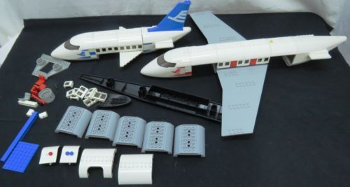 Lego City Airport Jets Passenger Jet Airline Airplane Replacement Parts (112)